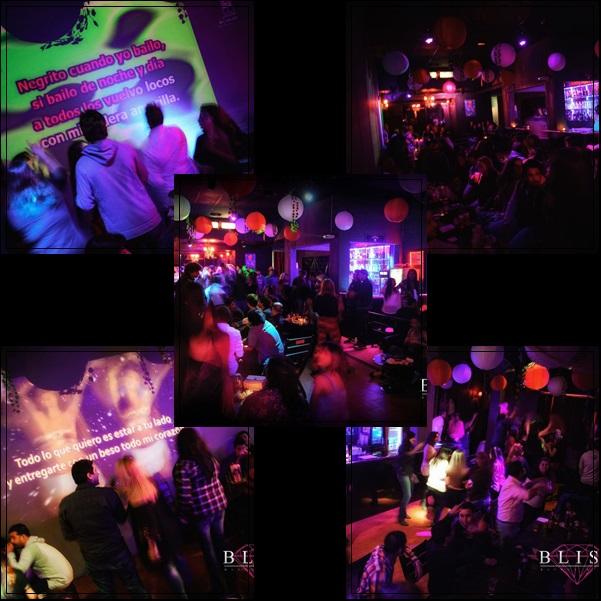Bar para festejar cumpleaños